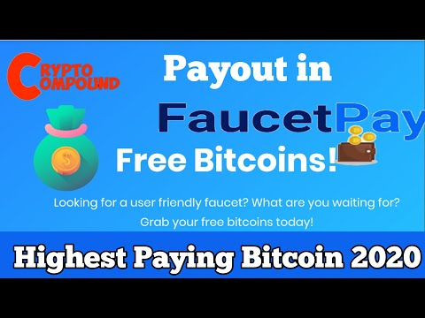 Highest Paying Bitcoin Site 2020 || Earn Bitcoin By Faucet ! Low Payout 0.00001Btc Only In Faucetpay