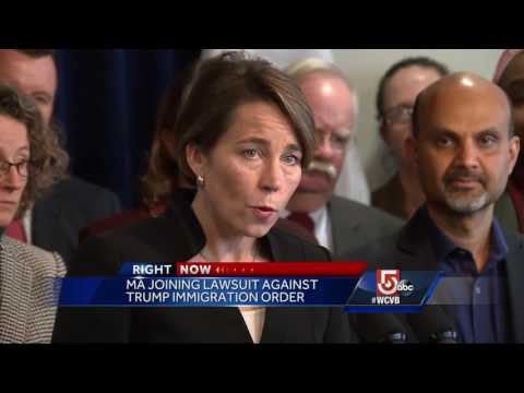 Massachusetts AG announces legal challenge to immigration order