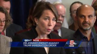 Massachusetts AG announces legal challenge to immigration order