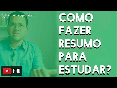 Como fazer Resumo Para Estudar? Prof. Piccini Responde... de YouTube · Duração:  5 minutos 36 segundos