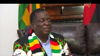 INTERVIEW: Mnangagwa speaks out after the rally explosion
