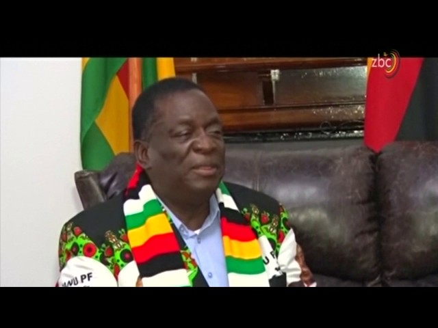 INTERVIEW: Zimbabwe president Mnangagwa speaks out after the rally explosion.