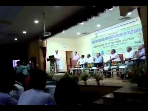 Dr  Sanjeev Balyan, Union Minister of State for Agriculture at Seminar of Association of Veterinary