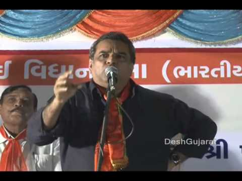 Paresh Rawal 's Gujarat election campaign speech in favor of Narendra Modi