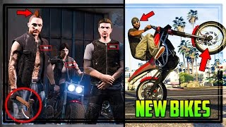 GTA ONLINE BIKERS DLC SCREENSHOTS INDEPTH! 6 New Bikes, Biker Ranking System & Much More!