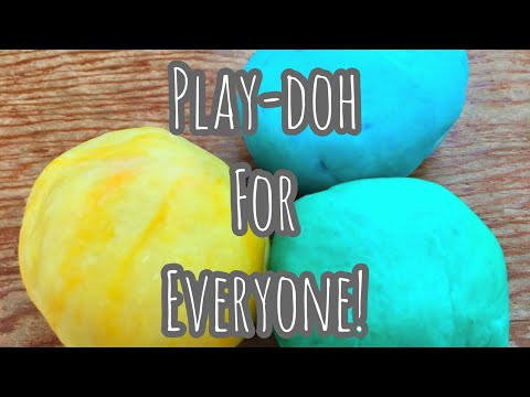 Play-Doh for EVERYONE! | Watch us Make it