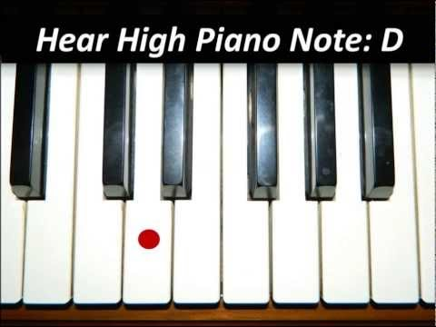 Hear Piano Note - High D