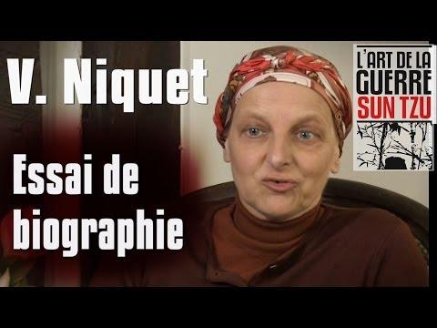 Valérie Niquet - Essai de biographie