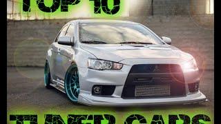 Top 10 mejores autos para modificar