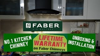 Faber Chimney Unboxing and Installation