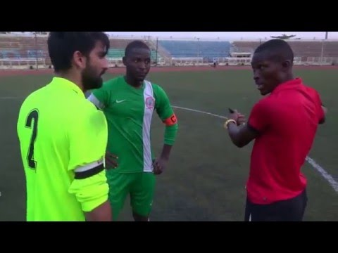 The Power of Durood Shareef - UK v Nigeria 24/03/2016