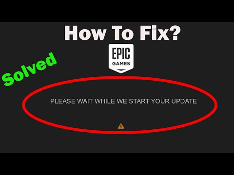 How To Fix Epic Games Launcher