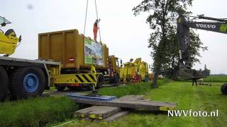 Berging 30 ton wegende  vuilniswagen Pangelerweg nunspeet.mov