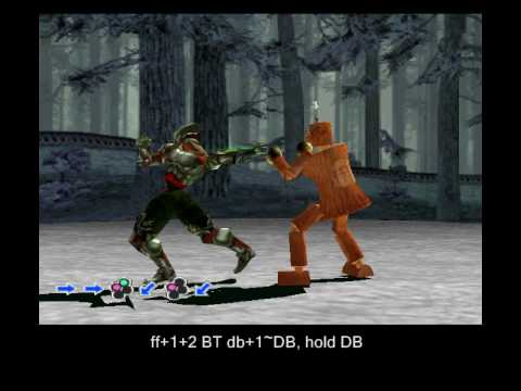 Tekken 3 Yoshimitsu Secret Moves Rare Custom Combos 1 3 Youtube