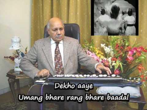 Aaj Mane Na Mora Jiya (Lata, film Badal), Played on Banjo (Bulbul Tarang) by Prof Qasim Hasan Zaidi.