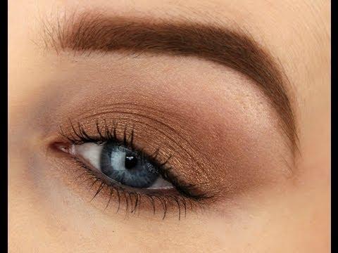 Beginners Makeup using ONE Eyeshadow