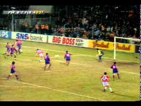 PSV 2 - Barcelona 3 (Vuelta Cuartos de final Copa de la UEFA 95/96)