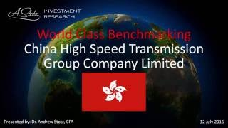 China High Speed Transmission Group