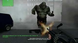 Counter Strike Source Zombie Horror boss fight compilation