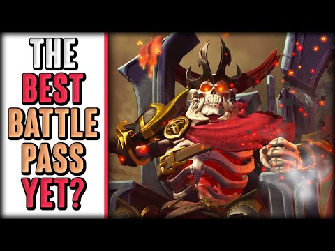 TI 10 Battle Pass Review! FEMALE Anti-Mage & SKELETON KING RETURNS!!!