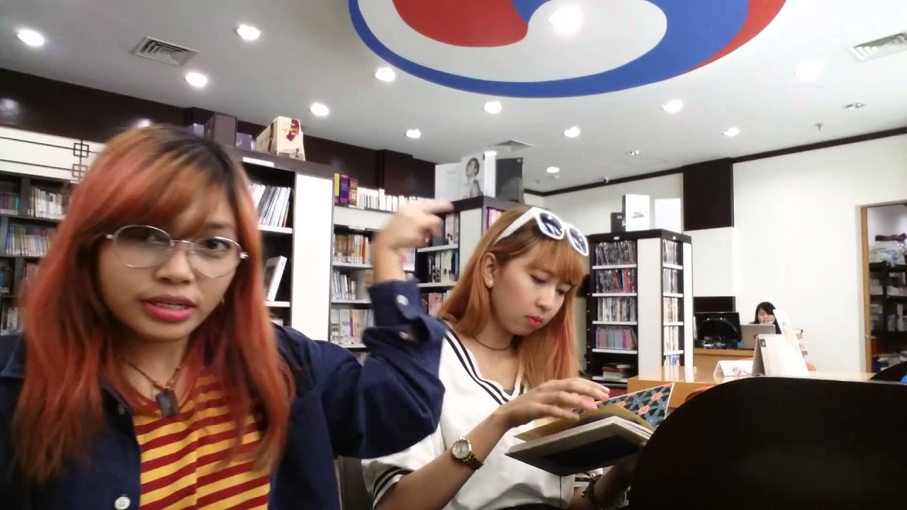 At the library Korean Cultural Center Indonesia  YouTube