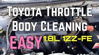 Toyota Corolla Gasklephuis Schoonmaken Service Matrix 1.8 L 4 Cilinder 1ZZ-FE 98 - 05 Bundys Garage