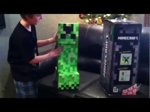 Minecraft Creeper Toy Glitch Manufacturing Error