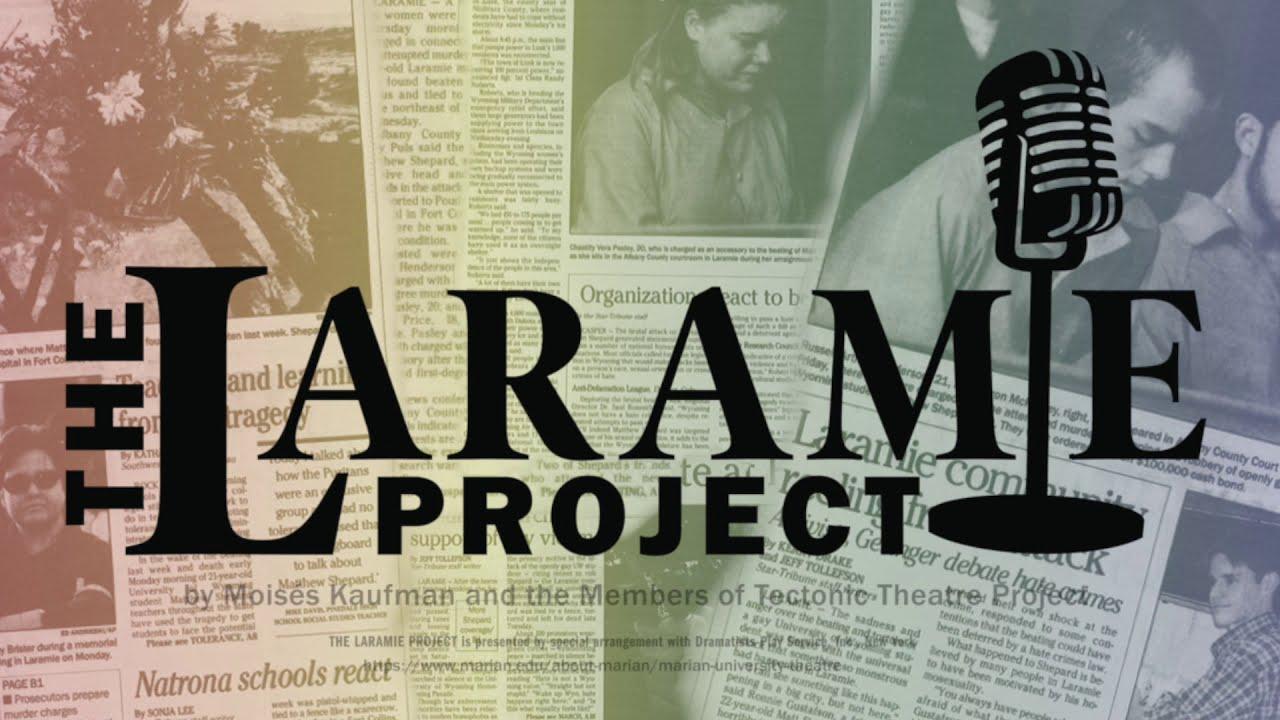 """The Laramie Project"" Trailer - Marian University"