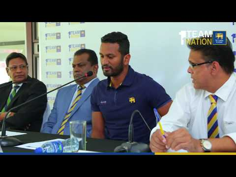 Post Series Media Conference - Sri Lanka tour of South Africa Test Series