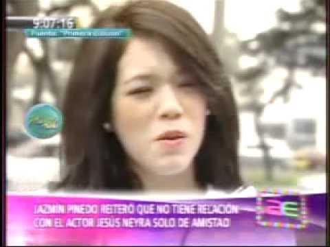 La modelo Jazmín Pinedo y el actor Jesús Neyra confirman relación sentimental 08/08/2011
