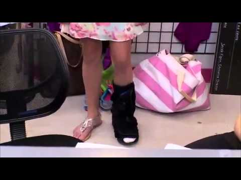 Dance Moms Chloe Broke Her Foot And Cant Dance Youtube