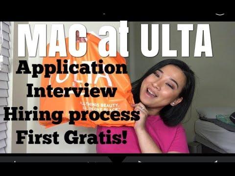 How I got hired at MAC at ULTA | MAC Interview 2017