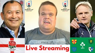England vs Ireland Live Stream   Rugby World Cup Warm Up