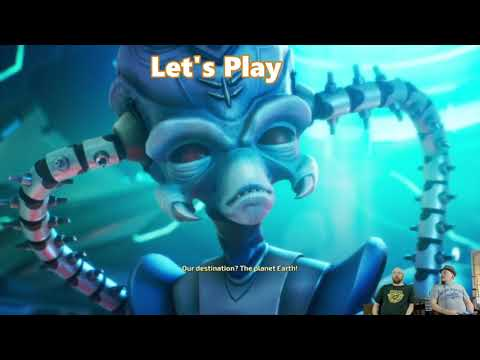 Let's Play With Your Perjangers: Destroy All Humans! Part 1