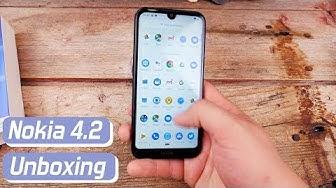 Nokia 4.2 unboxing ja ensitunnelmat