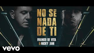 Video No Sé Nada De Ti Nicky Jam