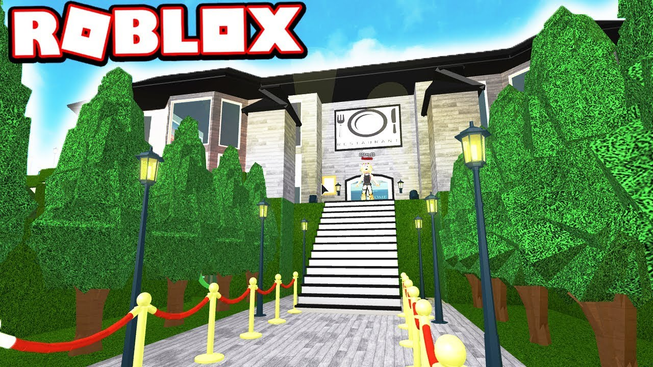 5 STAR CELEBRITY ONLY RESTAURANT!!! (Roblox Bloxburg