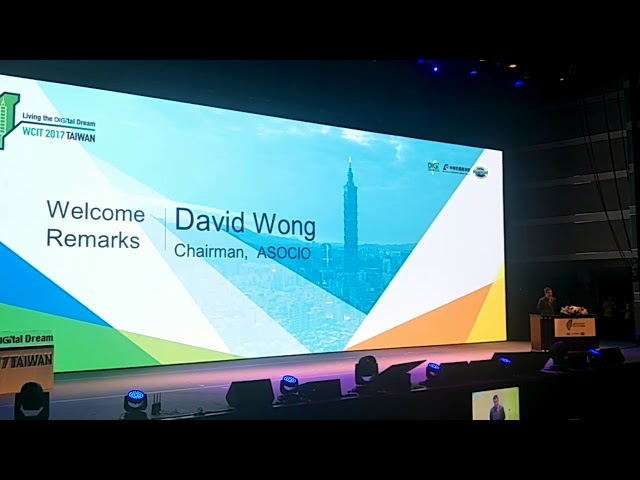 ASOCIO, Chairman welcome remarks speech at World Congress on Information Technology 2017