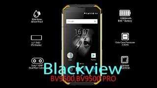 Blackview BV9500, BV9500 PRO повний огляд батарея 10000мАч рація