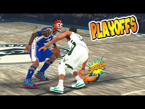 SNAPPED GIANNIS? Hall of Fame Difficulty Playoffs R1G2 - NBA 2K18 MyCareer