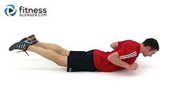 Low impact injury/back workout