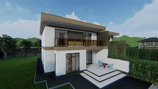 Жилой дом на две семьи Д2-544