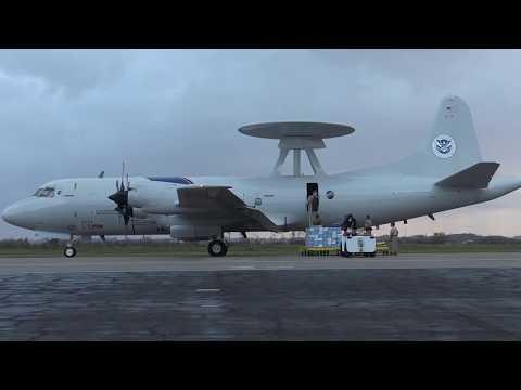 CBP AMO P-3 Crews Provide Critical Airborne Communications to Hurricane Maria