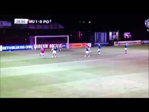 Paul Pogba wonderstrike vs Portsmouth FA Cup Youth 2011