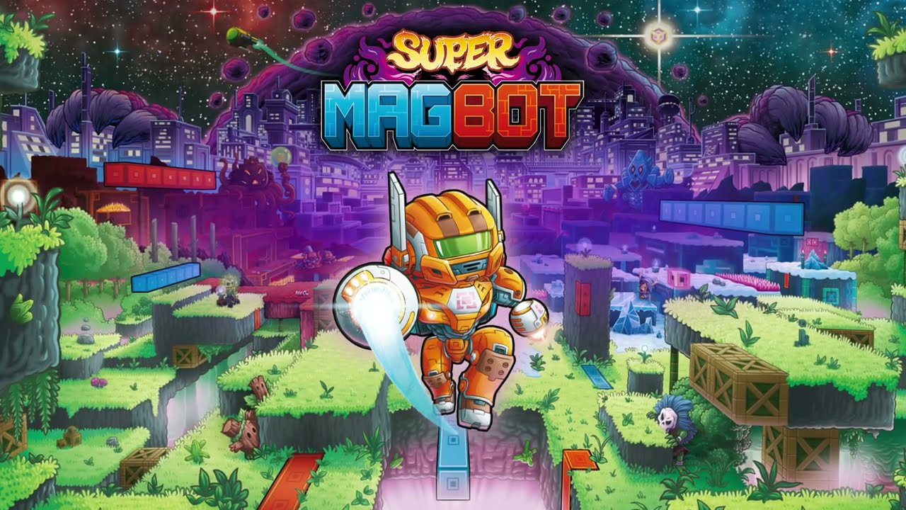 Super Magbot launches on Switch and Steam June 22nd