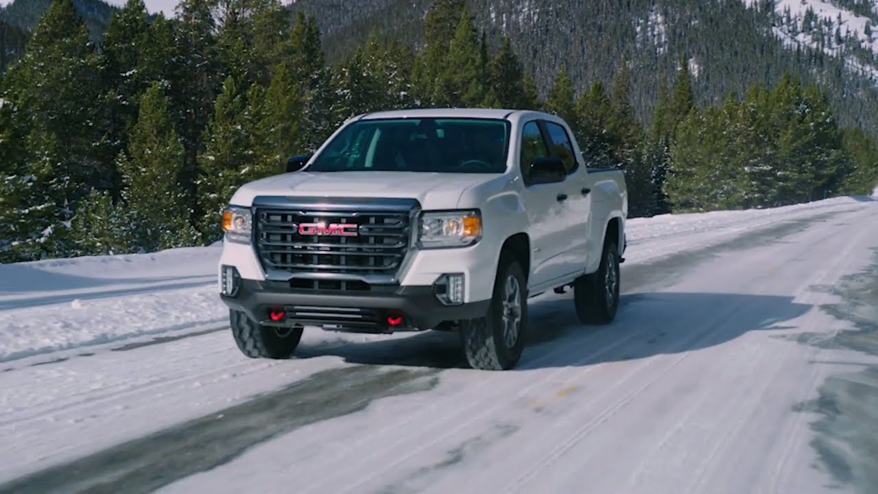 first look 2021 gmc canyon at4 offroader  youtube