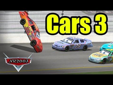 Cars 3 - McQueens Flip - Full Scene Reenactment
