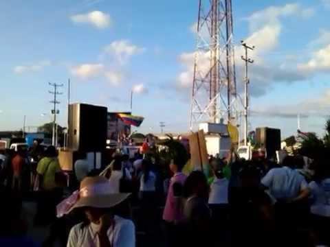 Concentración Marcha para Jesús Tucupita 2014