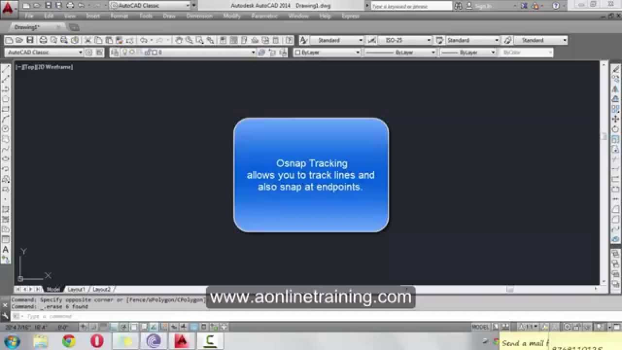 Autocad Online Courses Interior Designing Courses Osnap