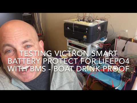 Victron Smart Battery Protect Tested for DIY LIFEPO4 Battery /  Low Voltage Disconnect on Boat